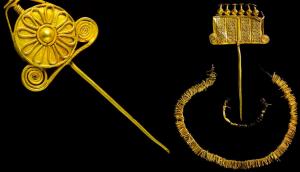 Deux épingles du Bronze Ancien