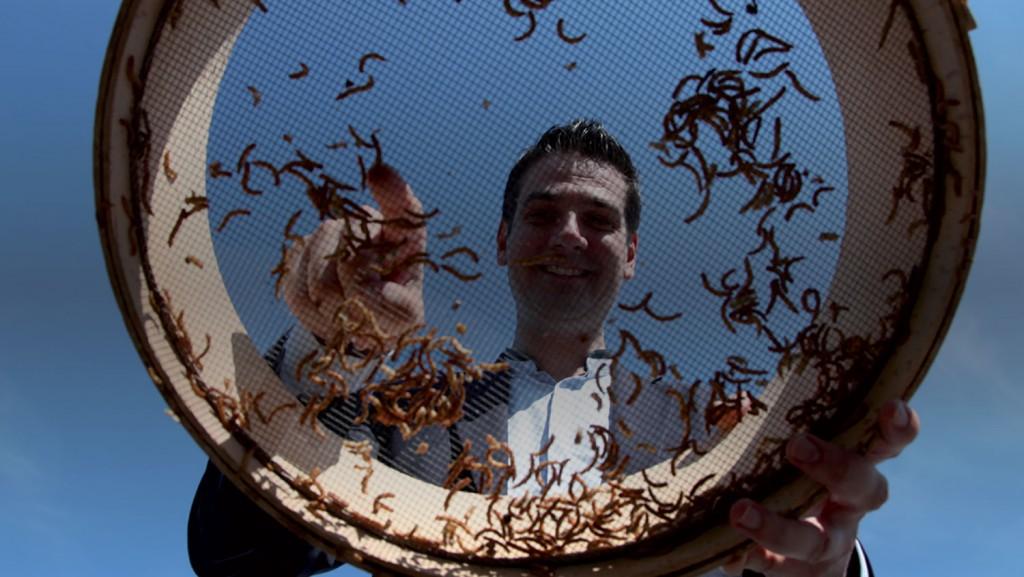 Goûtez des insectes avec Cédric Auriol !