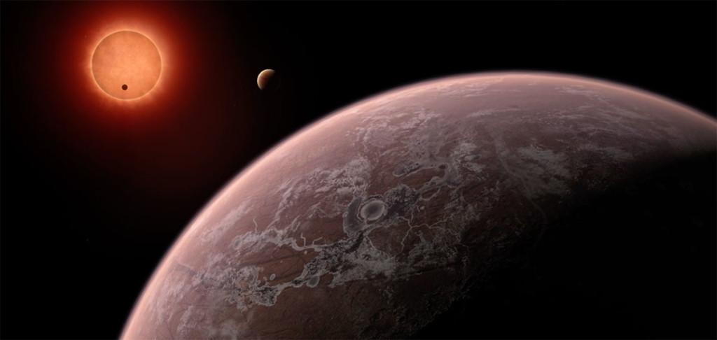 De nouvelles exoplanètes découvertes par Trappist