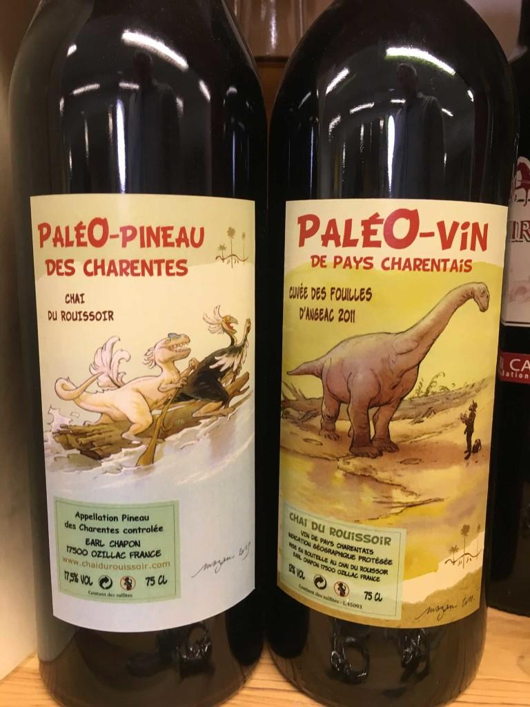 Compagnon des charentaises : paléo-vin et paléo-pineau ! A consommer avec modération bien sûr. :)