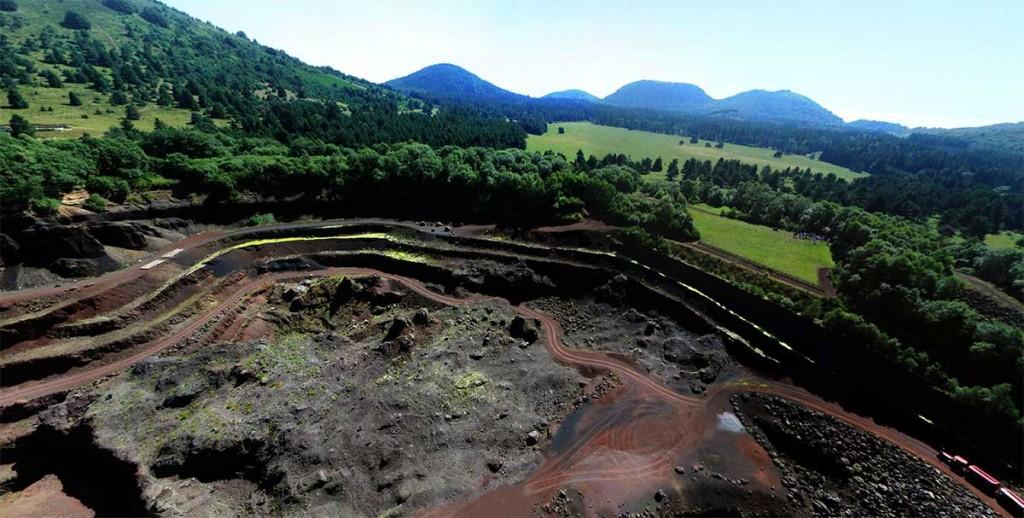 Le volcan de Lemptégy, Auvergne