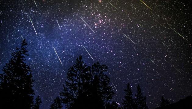 étoiles filantes perséides