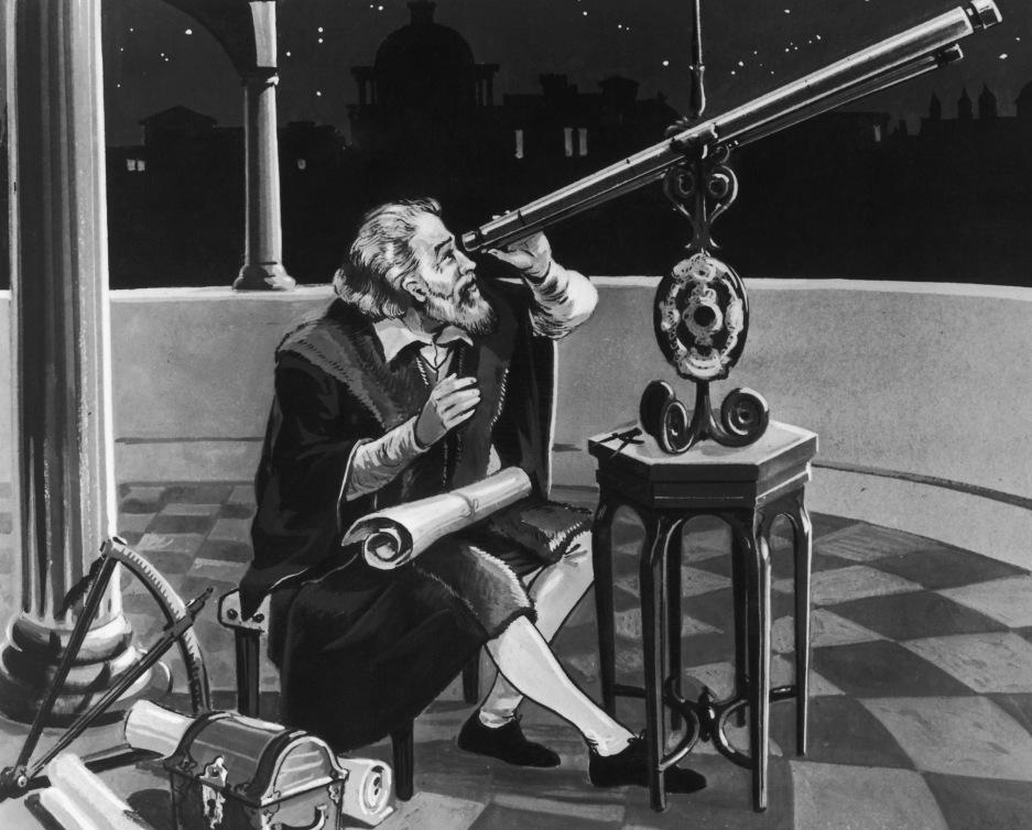 galilée lunette astronomique