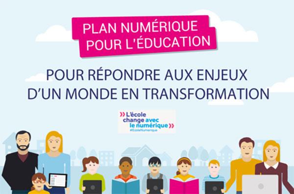 Plan numérique pour l'éducation 2016